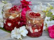 Crumble fruits rouges balsamique crème mascarpone