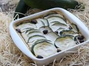 Flan courgettes olives (vegan)