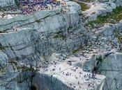 Mission impossible Fallout projeté falaise norvégienne