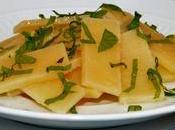 Parmigiano Reggiano confit sucre fraîcheur verveine mélisse.