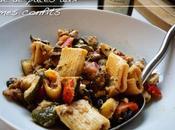 Salade pâtes légumes confits