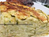 Gâteau Invisible courgettes,basilic parmesan