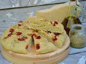 Focaccia poivrons, parmesan & origan