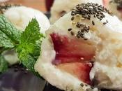 Maki lait coco nectarine sanguine