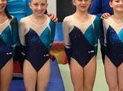 gymnastes l'AGM Coupes Formation gymnastique