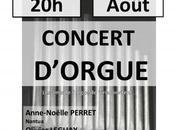 Concert d'orgue Anne-Noëlle Perret Olivier Leguay Viriat (Ain)