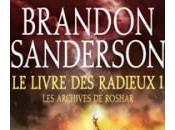 SANDERSON Brandon Livre Radieux