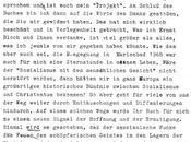 lettre Jürgen MOLTMANN Roger Garaudy