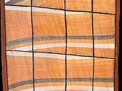 Focus peinture écorce aborigène John MAWURNDJUL présentée Parcours Mondes