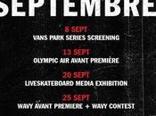 Shop Vans dévoile programme septembre