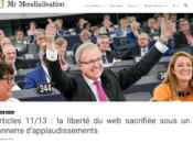 jour l'Europe détricoté Internet
