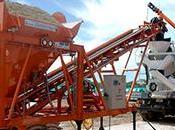Type seau 50cbm/hr usine mélange béton prix centrale 50cbm