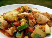 Escalopes poulet courgettes cookeo