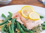Filets truites haricots verts thermomix