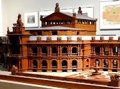 Expo Louis l'architecture: projet d'un théâtre wagnérien Munich.