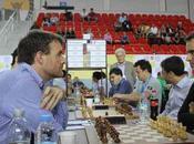 entre l'Angleterre France l'Olympiade d'échecs