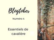 Blogtober essentiels cavalier d'Automne