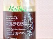 MELVITA cheveux dans sales gras shampooing purifiant sans sulfates.