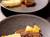 Grand menu chasse 2ème plat: Filet cerf, crumble sauce chocolat noir