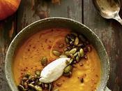 Soupe légumes d'automne rôtis