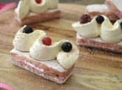 biscuits roses façon éclair vanille