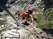 ferrata Ardèche, activité entre l'escalade randonnée
