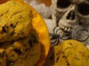 Cookies potimarron ,piment pépites chocolat