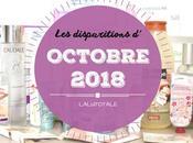 disparitions Octobre 2018