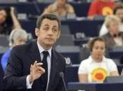 Sarkozy face Parlement européen