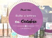 Haul coeurs Octobre Boîte lettres résumé mois.