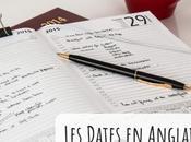 Dates anglais comment bien repérer dans temps