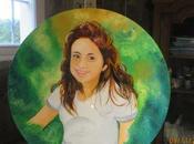 portrait Maryne (d'apres photo) rond