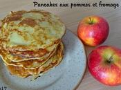 Pancakes pommes fromage blanc