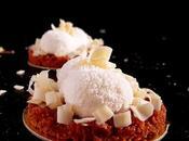 Cheesecake chocolat blanc coeur coulant dulce leche