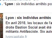 Pour Macron chien garde @CCastaner, plutôt nazis, antifas, voilà l'ennemi