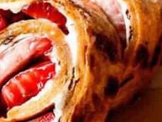 Recette gâteau roulé fraise fromage crème