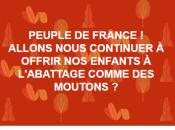 Avec Christophe Chalençon, #giletsjaunes encore repeints brun… avec complicité médias #Islamophobie