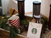 Café Starbucks confection couronne Noël