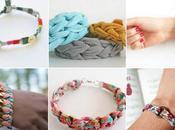 Plus bracelets cools tissu