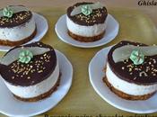 Bavarois poire-chocolat-spéculoos