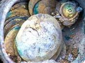 pièces d'or rarissimes découvertes dans ville Césarée