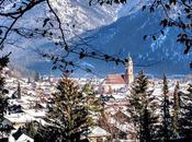 Winterliche Wanderung Mittenwald Promenade hivernale