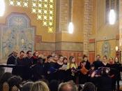chœurs Villa Carmélie Conservatoire Saint-Brieuc célèbrent Benjamin Britten Chapelle Maison Saint-Yves Saint-Brieuc, décembre 2018