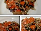 Sarrasin blettes carottes