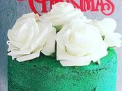Glitter Cake Noël