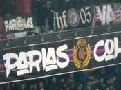 Nantes ultras allument Parc pour Parias Cohortis