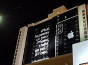 Vegas, présence façade coté d'Apple