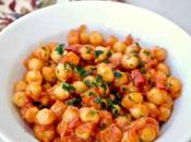 Pois chiches sauce tomate cookeo
