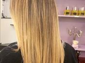 balayage l'argi-blond (100% adapté femmes enceintes) chez Céline Dupuy