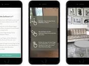 WestwingNow iPhone ajoute fonction Réalité Augmentée